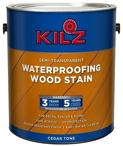 KILZ Exterior Waterproofing Wood Stain
