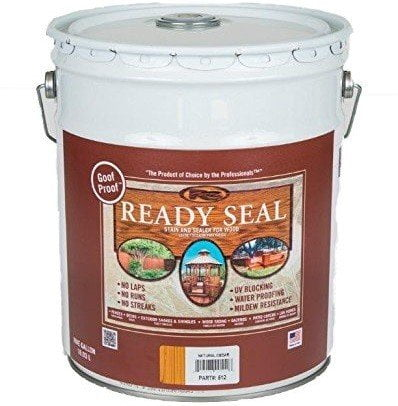 Ready Seal Natural Cedar Exterior Wood Stain and Sealer