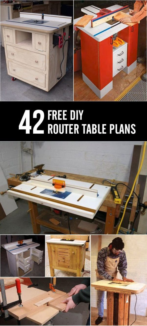 42 Free Diy Router Table Plans You Can Build Yourself