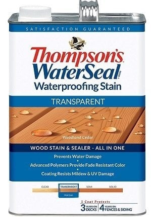 Thompson's Water Seal Transparent Stain