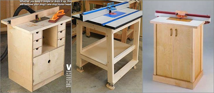 Elegant 4-Drawer DIY Router Table Tutorial