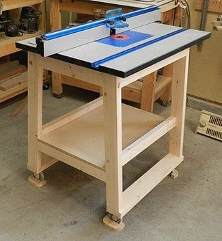 DIY Router Table Using Dowels Tutorial