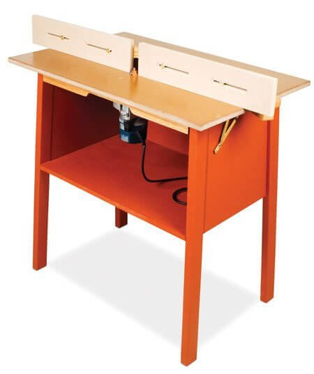 Easy to Build $100 Router Table Tutorial