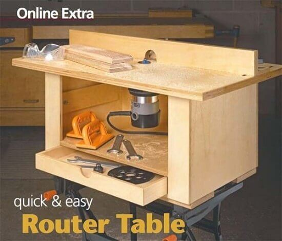 How to Build a Router Table The Quick & Easy Way