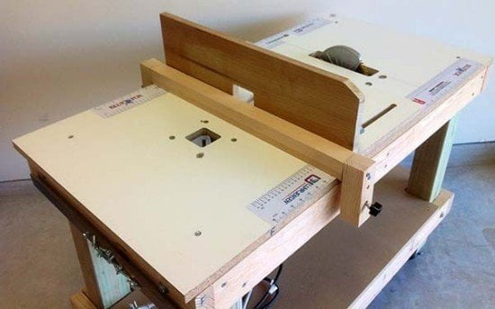 Portable DIY 3-in-1 Bench / Saw / Router Table Guide