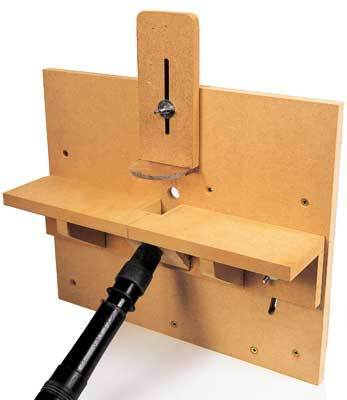 Free DIY Horizontal Router Table Guide