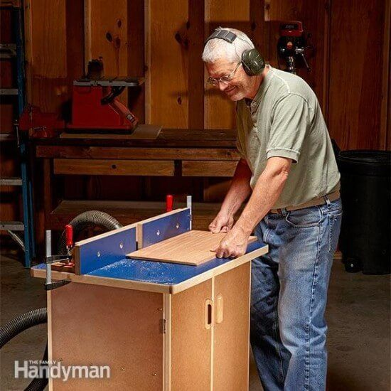 Clean & Solid DIY Router Table Tutorial