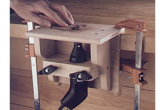 DIY Mini Router Table Tutorial
