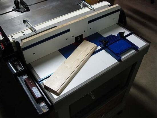 Combination Table Saw & Router Fence Guide