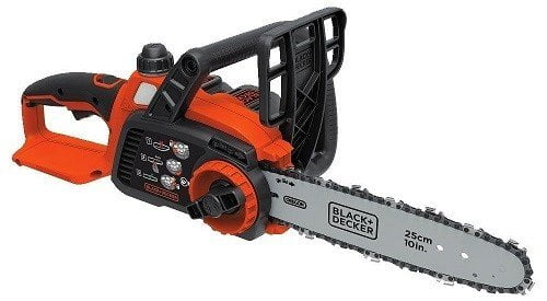 Black & Decker LCS1020 10-Inch 20V MAX Lithium-Ion Chainsaw