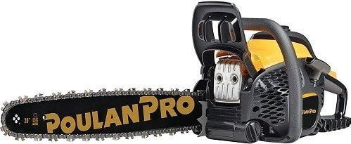 Poulan Pro 967061501 50cc 2 Stroke Gas Powered Chainsaw