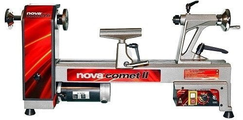 Nova 46300 Comet II 12x16 1/2-Inch Variable Speed Mini Lathe