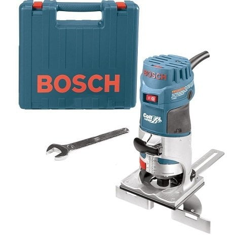 Bosch PR20EVSK Colt Palm Grip 5.6 Amp 1HP Fixed-Base Variable-Speed Router