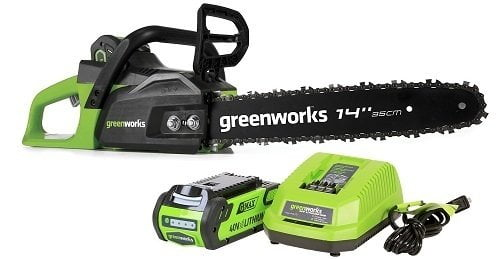 Greenworks CS40L210 Cordless Chainsaw