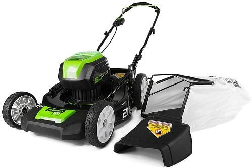 Greenworks GLM801600 Cordless Lawn Mower