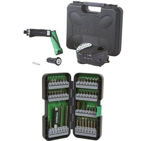 Hitachi Dual-Position Cordless Screwdriver Kit