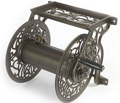 Liberty Garden Products 704 Decorative Cast Hose Reel