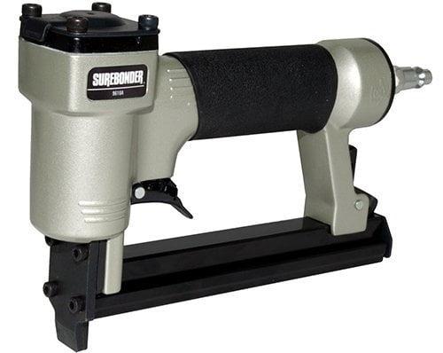 Air compressor needed-not included Surebonder 9600B Pneumatic Heavy Duty Standard T50 Type Stapler