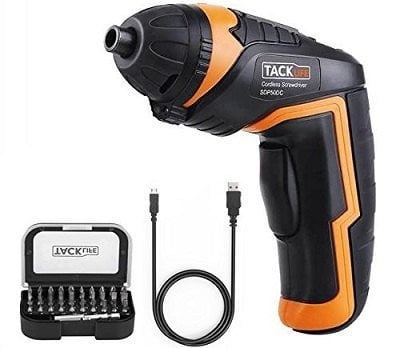 Tacklife SDP50DC Cordless Screwdriver Kit
