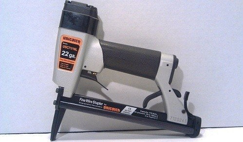 Unicatch Long Nose 22-Gauge Staple Gun for Upholstery