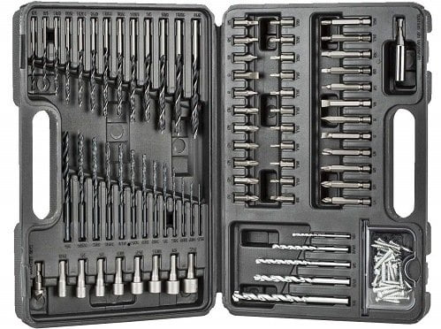 Black & Decker 109-Piece Drill Bit Accessory Set
