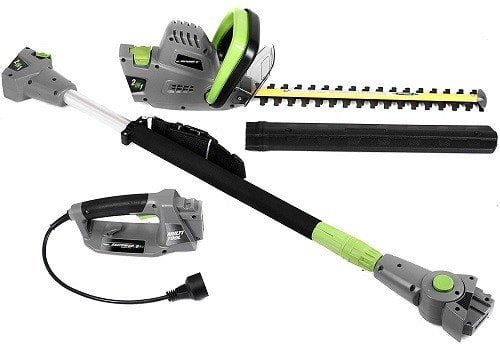 Earthwise CVPH43018 Corded 2-in-1 Pole Hedge Trimmer