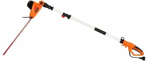 Garcare Multi-Angle Corded Pole Hedge Trimmer​