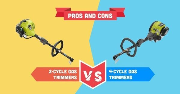2 Cycle Vs. 4 Cycle Gas Trimmer
