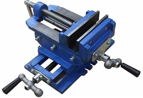 HFS 3-Inch Cross-Slide Drill Press Vise