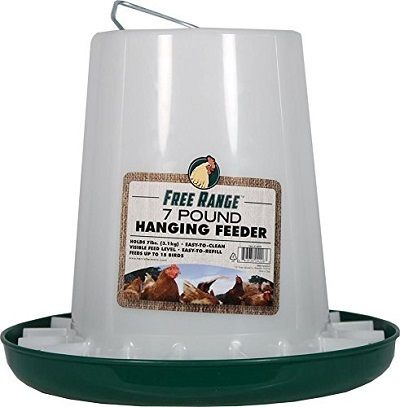 Harris Farms Plastic Hanging Chicken Feeder