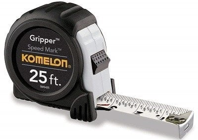 Komelon Speed Mark Gripper Tape Measure
