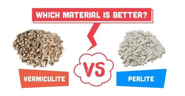 Vermiculite vs Perlite