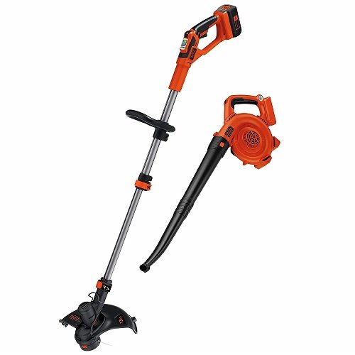 Black & Decker LCC140 40V MAX Lithium Ion String Trimmer and Sweeper Combo Kit