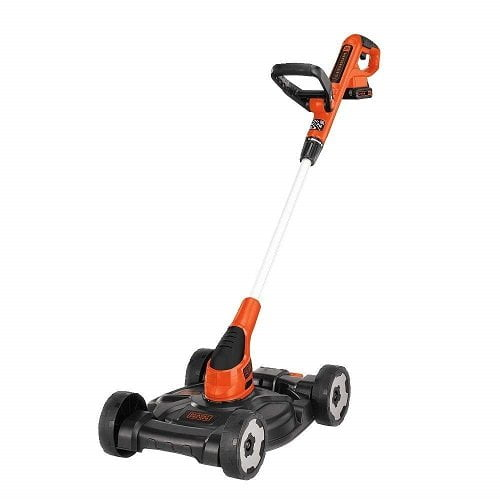 Black & Decker MTC220 20V Lithium Ion 3-in-1 Trimmer Edger and Mower
