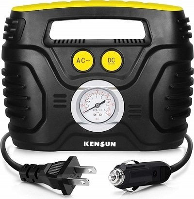Kensun AC/DC Swift Performance Portable Air Compressor