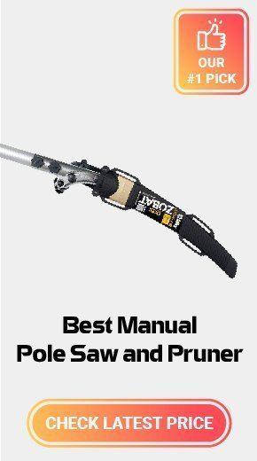 Best Manual Pole Saw & Pruner