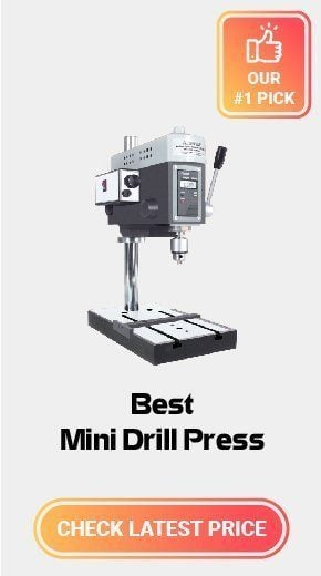 MicroLux Variable Speed Mini Drill Press Super Value Package