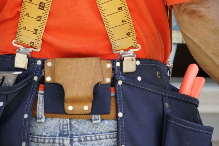 Tool Belt Suspenders